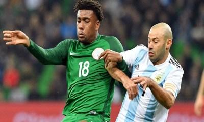 Argentina vs Nigeria : Iwobi Settle Super Eagles Nerves With A Brace To Sink Argentina 7