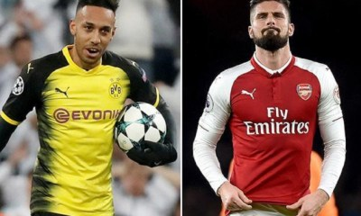Arsenal Ups £60m For Aubameyang As Chelsea Moves Close On £35m Giroud 4