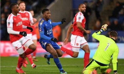 Kelechi Iheanacho Makes VAR History, Scores Brace To Seal Leicester Qualification 5