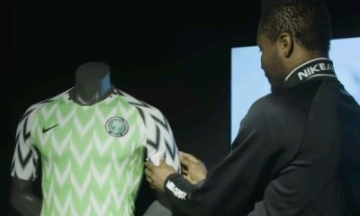 Mikel, Ndidi, Iwobi & Iheanacho React To Super Eagles New Kit 4