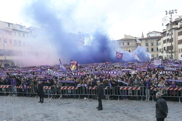 Davide Astori Funeral: Thousands Of Fans Pay Tribute 14