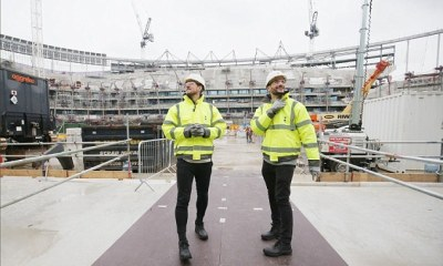 Kane, Lloris Were The First To Experience Spur's 62,000-Seater Arena 2