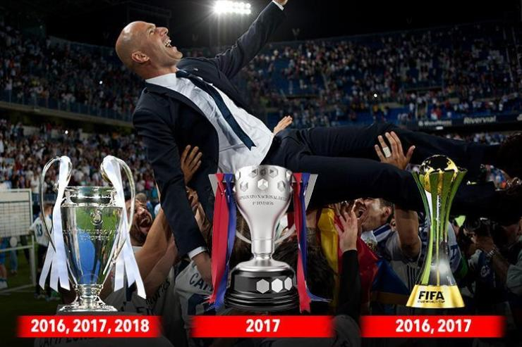 Masterclass : Zidane's Two Year & Half Years In Numbers 4