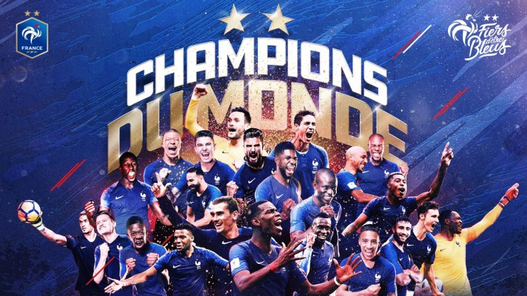 2018 World Cup : Vive la France! Les Blue's Are World Champions 4