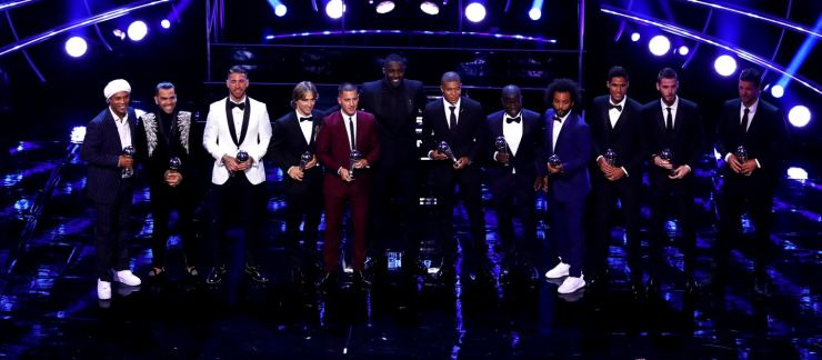 FIFA Best Awards: Luka Modric End's Messi-Ronaldo Dominace To Clinch 2018 Best Player Award 17