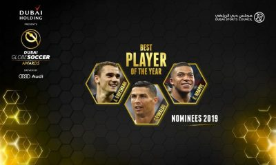 Globe Soccer Award : Griezmann, Ronaldo & Mbappé Selected For Best Player Of The Year 19