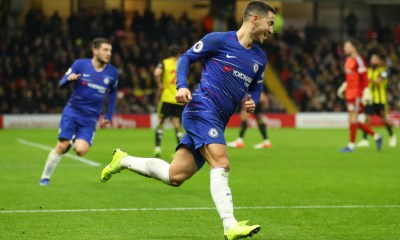 Hazard Wants Legendary Status At Chelsea After Reaching 100 Goal Mark 6