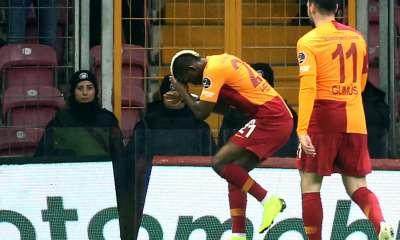 Henry Onyekuru Hat-Trick Helps Galatasaray Secure Biggest Win In 32 Years 2