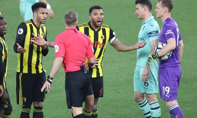 He's A F****** P****!': Troy Deeney Fired Foul-Mouthed Rant At Referee, Lucas Torreira & Unai Emery 4