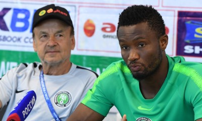 AFCON 2019: Mikel Obi Will Lead & Inspire Super Eagle's Young Guns - Gernot Rohr 4