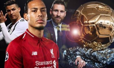The 2019 Ballon D'Or Nominees: Messi, Ronaldo, Van Dijk & 27 Others 5
