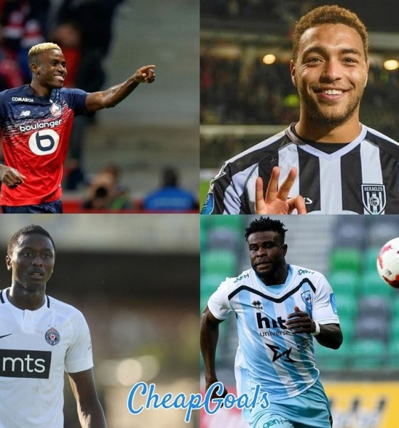 Top 12 Nigerian Players Who Hit Double Figure In Goals This Season