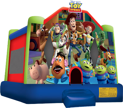 Toy Story 3 Inflatable Bounce House