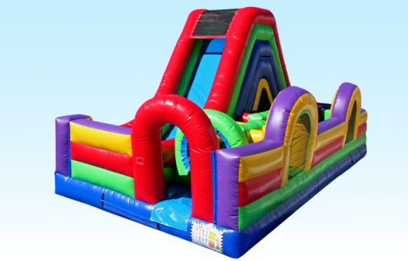 Slide/Obstacle Combo Inflatable