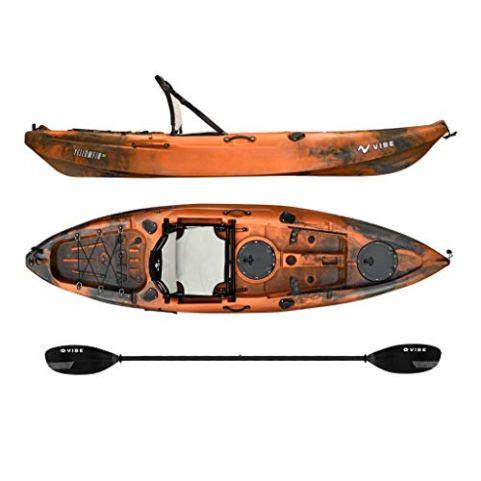 Vibe Kayaks Yellowfin 100 | 10ft Angler Sit On Top Kayak | 1