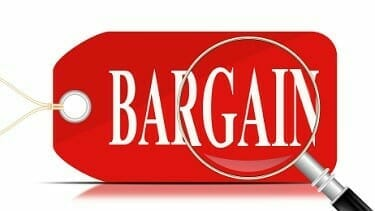 Bargains - Lowest Cost