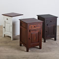 Handmade Rosewood Nightstand (White, Brown or Tea Stained) for $174 + Shipping