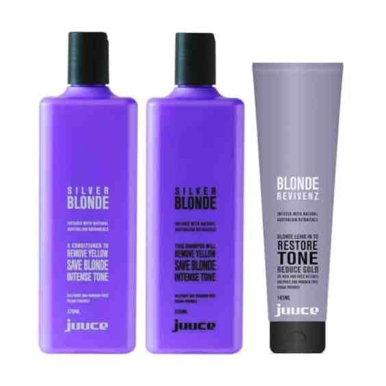 Juuce Silver Blonde Trio Pack