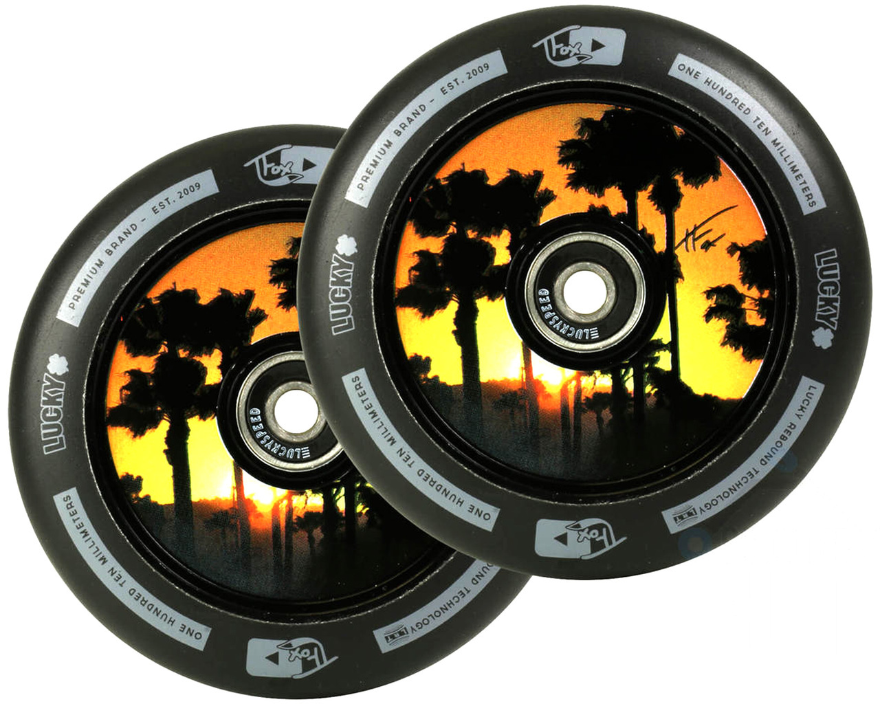 Mix and Match Your Colors 110mm Hollow Core Wheel Liberty Pro Scooters Single Series