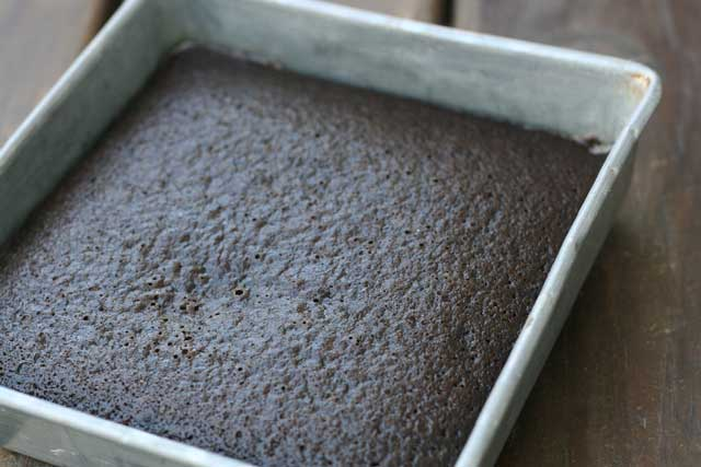 Wacky cake: The classic, no-frills recipe. This cake is eggless.