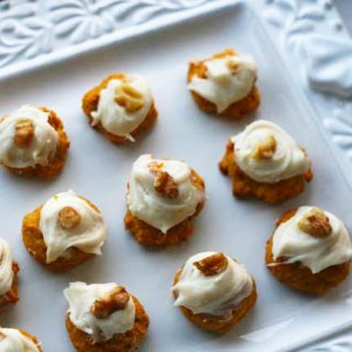 Moist Pumpkin Cookies With Cream Cheese Frosting