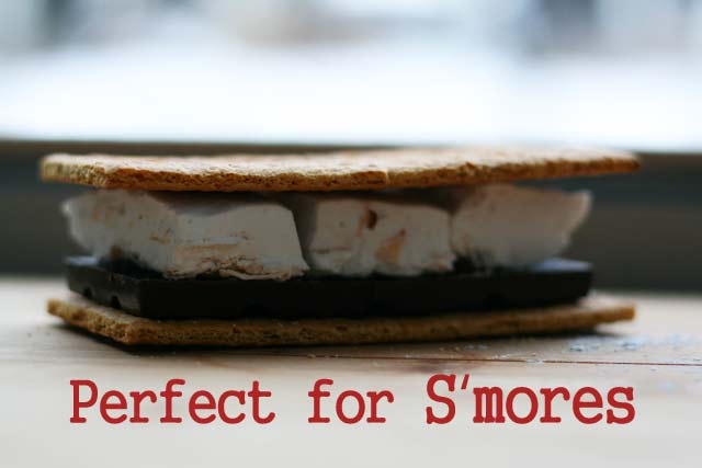 Homemade coconut marshmallows recipe for s'mores