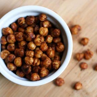 Roasted garbanzo beans recipe: A super cheap and easy snack that's crunchy and addictive!
