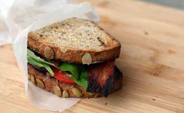 BLT sandwich variations