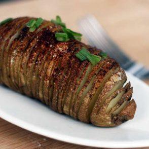 Hasselback potatoes recipe: Learn how to make hasselback potatoes, an alternative to traditional baked potatoes.