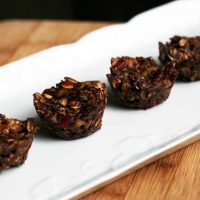 Healthy Chocolate Oat Bites