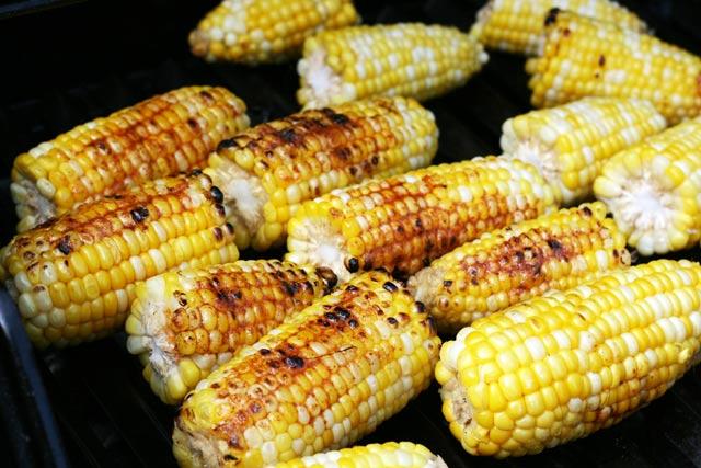 Barbecue sweet corn recipe