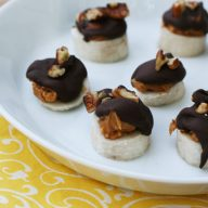 Chocolate peanut butter banana bites: So cheap, and so easy! Make this recipe ASAP!