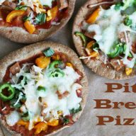 Pita bread pizza: Make homemade pizza the easy way - with a ready-made crust! Click through for more ideas.