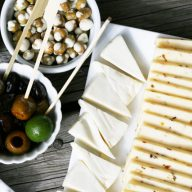 Cheap appetizers for a party - 的$10 appetizer spread