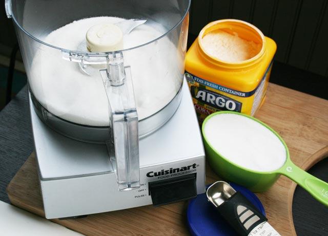 How to make homemade powdered sugar