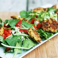 Falafel salad recipe: Make falafel at home, and turn it into a meal by adding delicious and healthy salad ingredients.