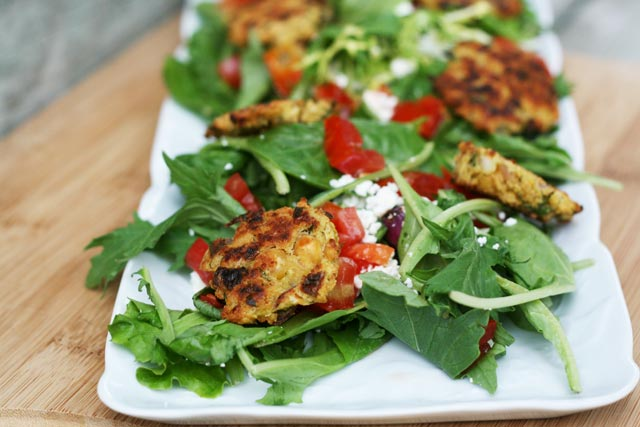Falafel salad recipe