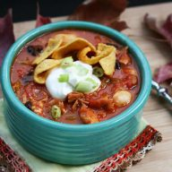 Thanksgiving leftover recipes turkey chili. Now you know what to do with your leftover turkey!