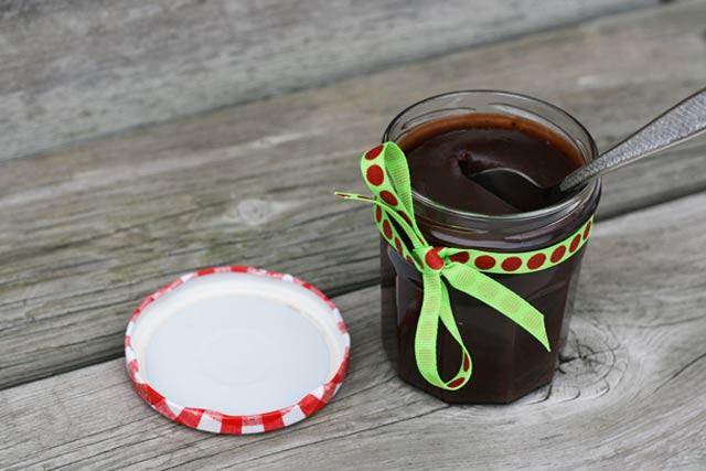 Salted chocolate sauce recipe