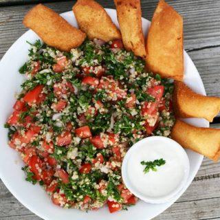 Cheap Quinoa Tabouli Salad