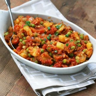 Aloo Matar: Indian Pea And Potato Curry