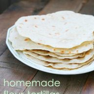 Homemade flour tortillas. Just 5 cents each! Repin to save.