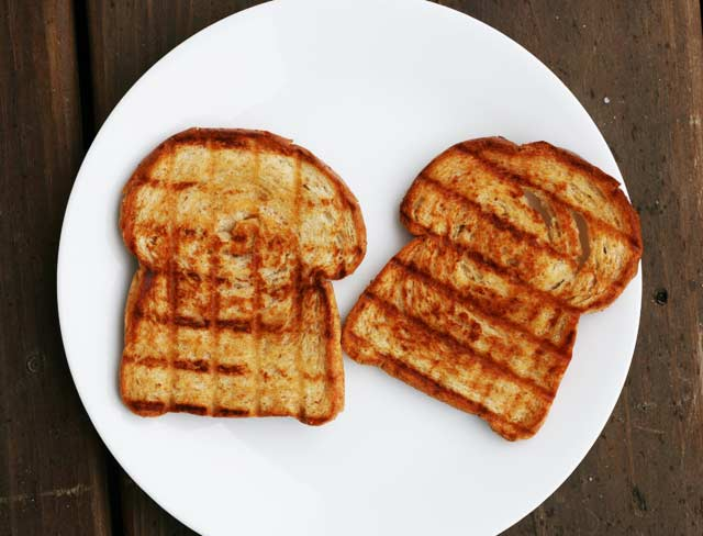 Buttery toasted bread recipe