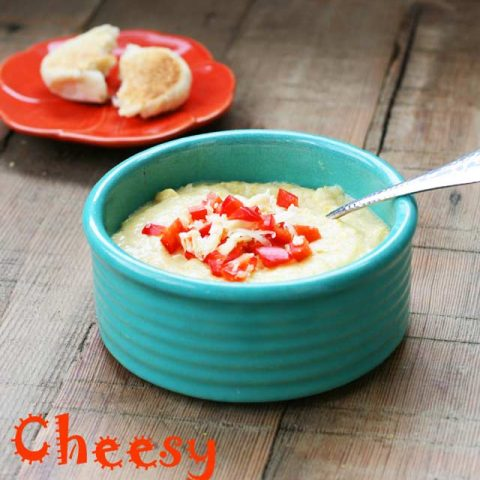 Cheesy Cornbread Soup