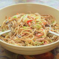 Chicken Spaghetti Salad