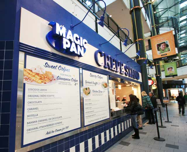 Magic Pan Crepe Stand at Mall of America