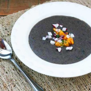 Black Bean Soup With Orange-Jalapeño Salsa