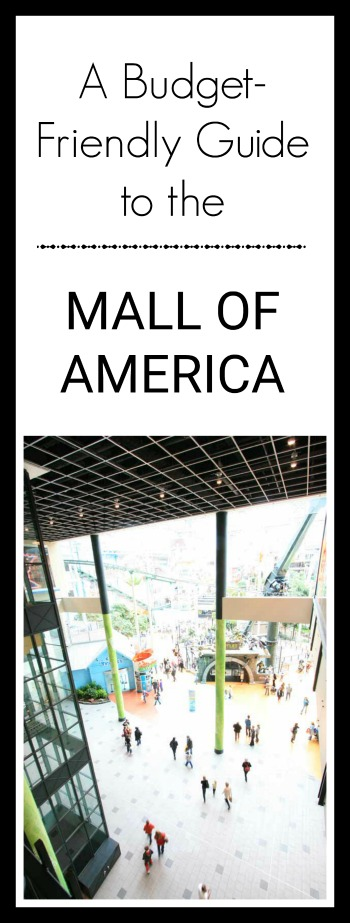 A budget-friendly guide to the Mall of America in Bloomington, Minnesota. Click through for ideas!