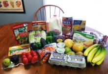 Getting cheap groceries at ALDI foods