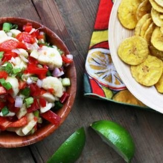 Spicy banana salsa recipe